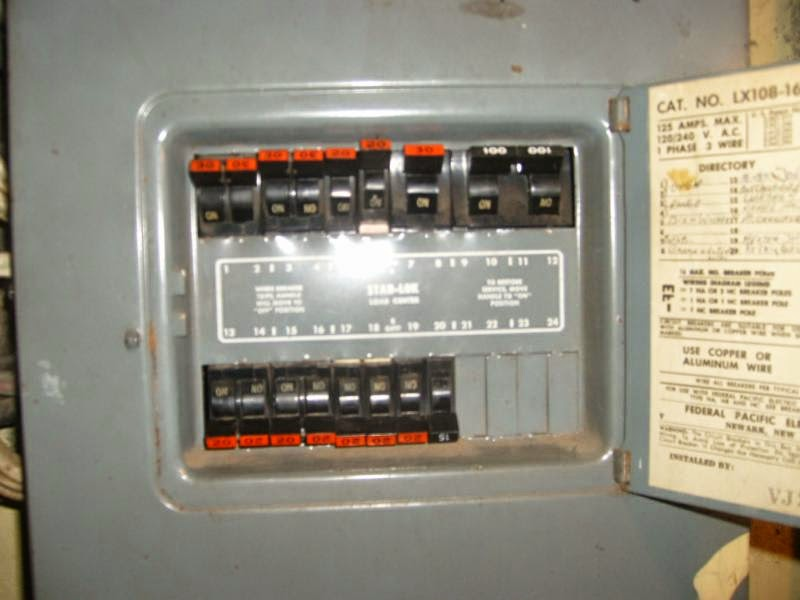 Federal Pacific/Zinsco – Faulty Electrical Panels - GBW Electric on